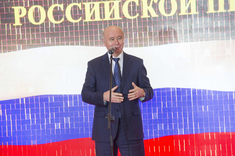 Николай Иванович во время приветственной речи