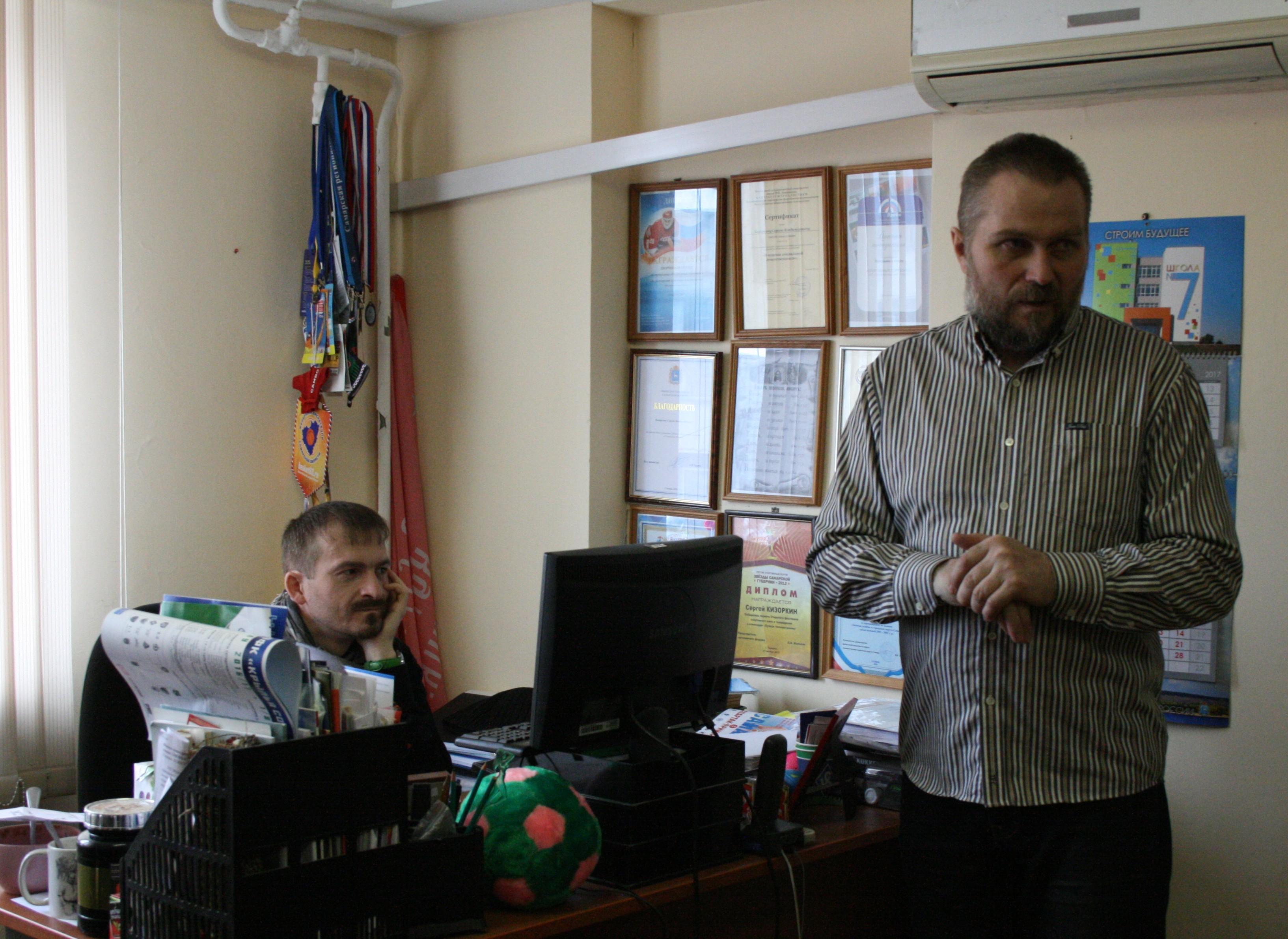 1.Наш гид - оператор и режиссёр Валерий Осипов