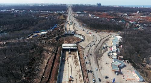 Строительство тоннеля. Автор - Дмитрий Бурлаков