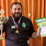 1 место -  капитан команды ТК «Самара-ГИС»  Андрей Горгуленко