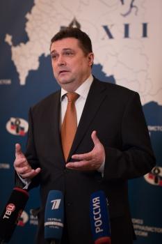Новый председатель СЖР Владимир Соловьев