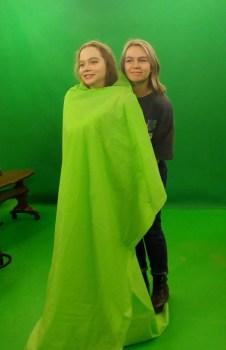 Раскрываем секреты зелёной комнаты