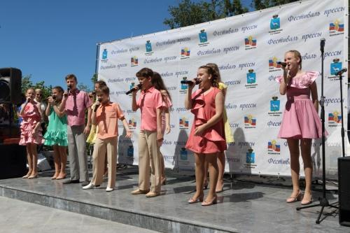 выступление Муниципального Детского музыкального театра «Задумка»