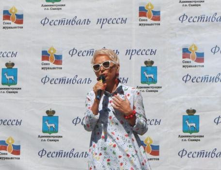 Председатель областного Союза журналистов Ирина Цветкова