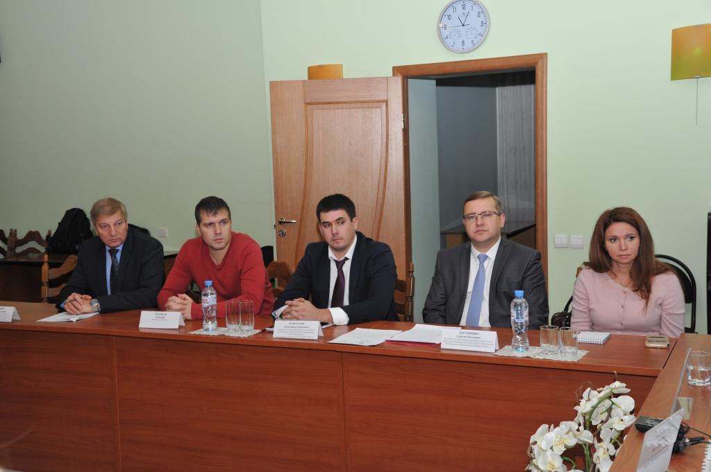 Участники дискуссии.