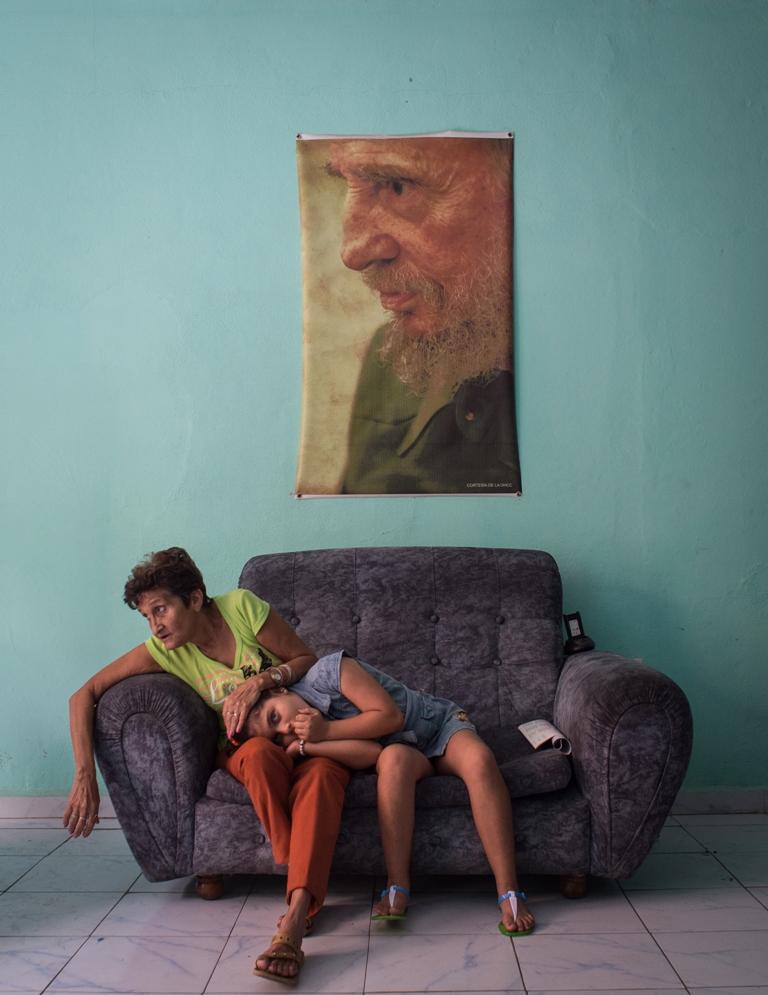 """Фотография из серии """"Черный квадрат Фиделя"""" (2016 г.). Автор - Кристина Кормилицына."""