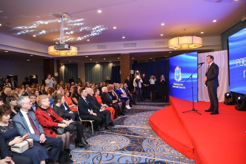 Лучших журналистов губернии отметили государственными наградами