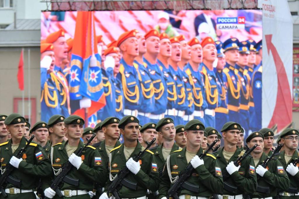 Парад Победы в Самаре 24 июня 2020