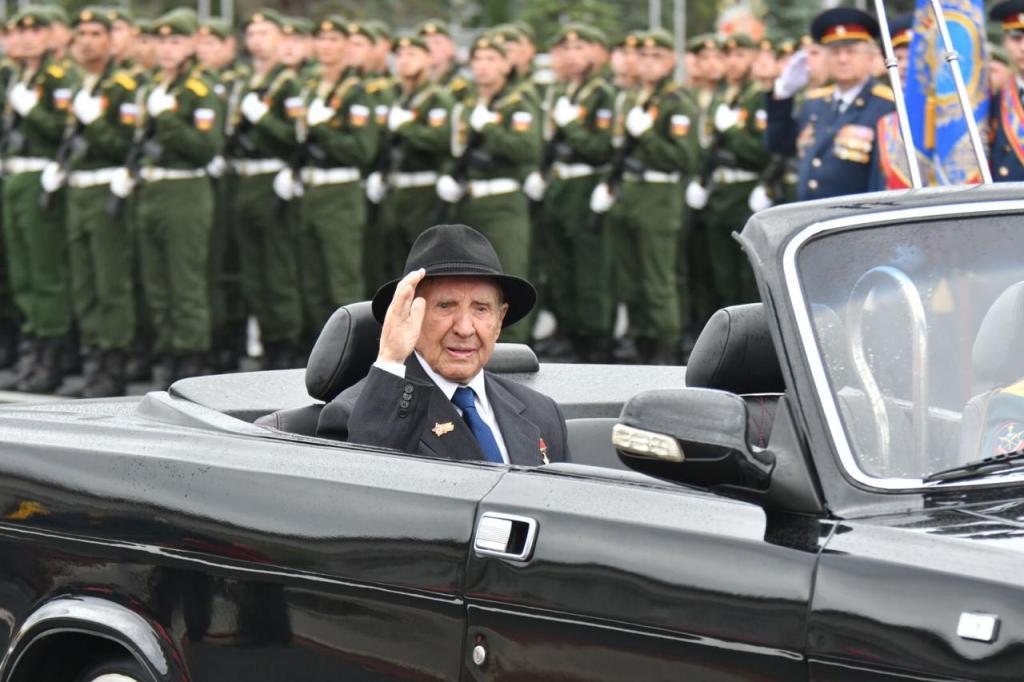 Владимир Чудайкин на параде